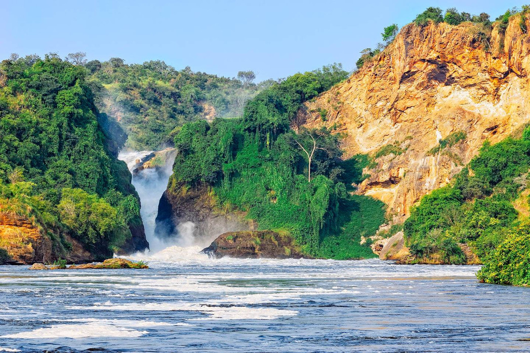 Spectacular nature of the Murchison Falls