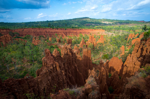 Spectacular landscapes of the UNESCO-listed Konso Cultural Landscape