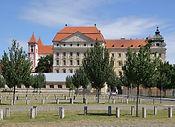 Znojmo_(Znaim)_-_Loucký_klášter_(Kloster