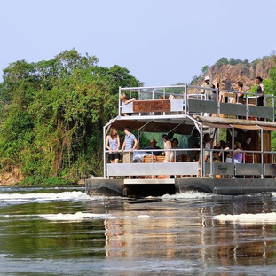 Cruise the Kazinga Channel in Queen Elizabeth National Park