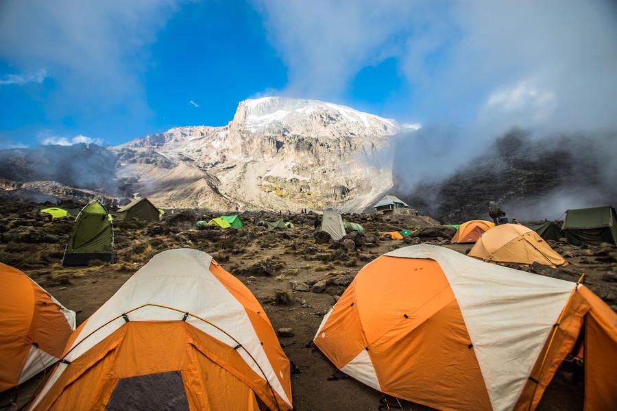 Mount Kilimanjaro wilderness camping