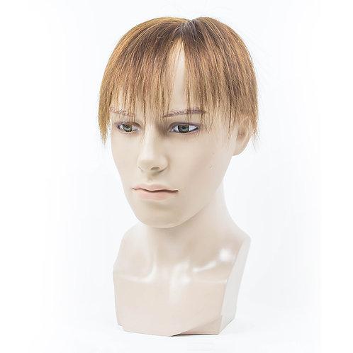 Ben Human Hair Toupee in Light Brown
