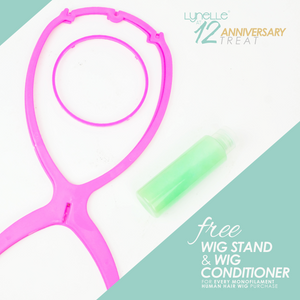 lynelle hair, wig stand, hair conditioner