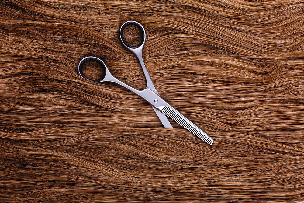 hair, scissors, cutting hair