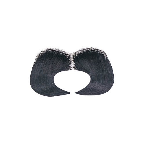 Lorax Synthetic Mustache - Black
