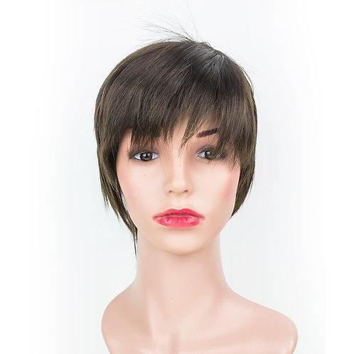 SAM Short Layered Pixie Monofilament Wig