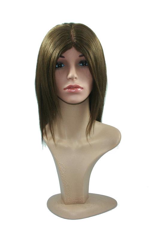 Mid length Monofilament Human Hair Wig H.MONO-RACHEL
