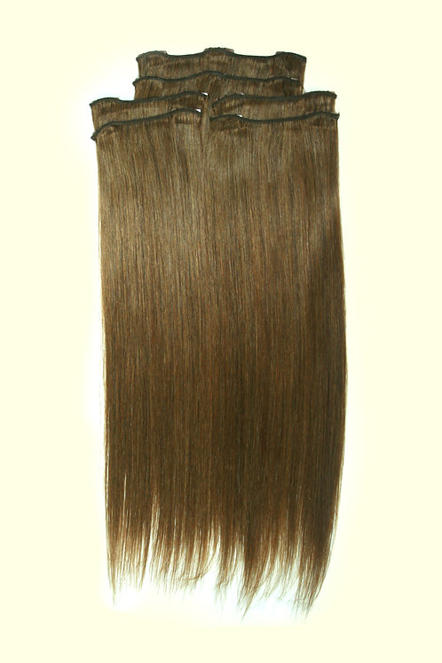 16 Inches 6 LIGHT ASH BROWN- Full Head Package