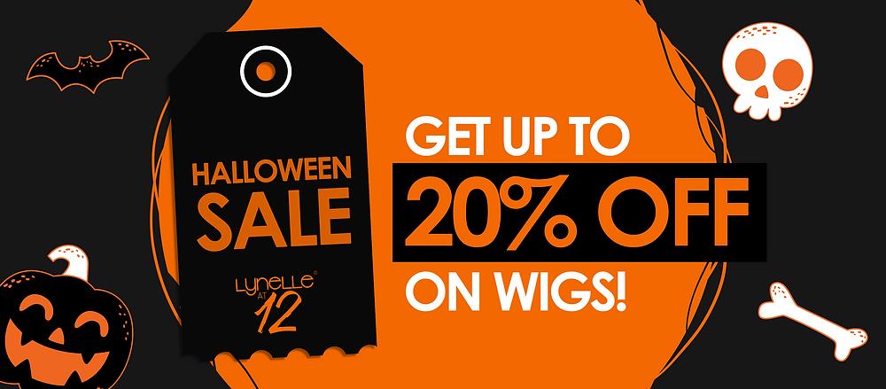 halloween wigs, sale