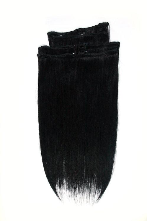 16 Inches 1B BLACK- Full Head Package