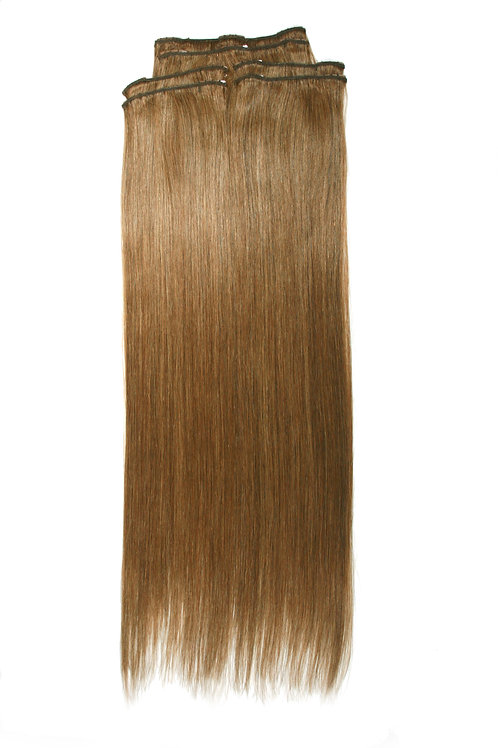 22 Inches 8 CARAMEL BROWN- Full Head Package