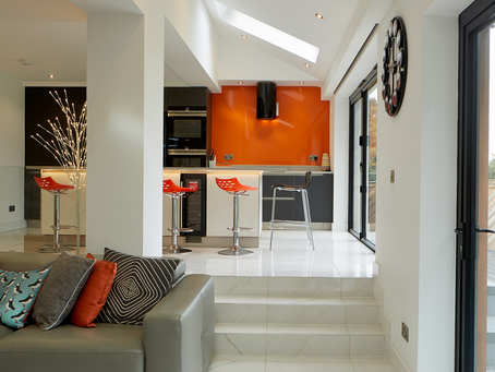 Do you like the split level lower lounge space?