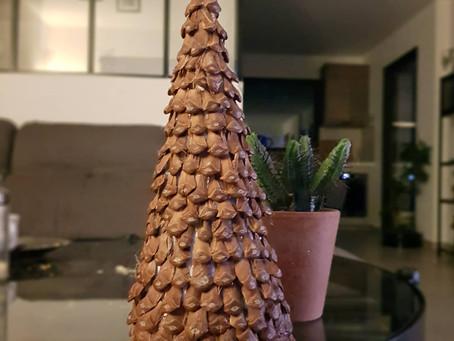 DIY | Petit sapin en pomme de pin