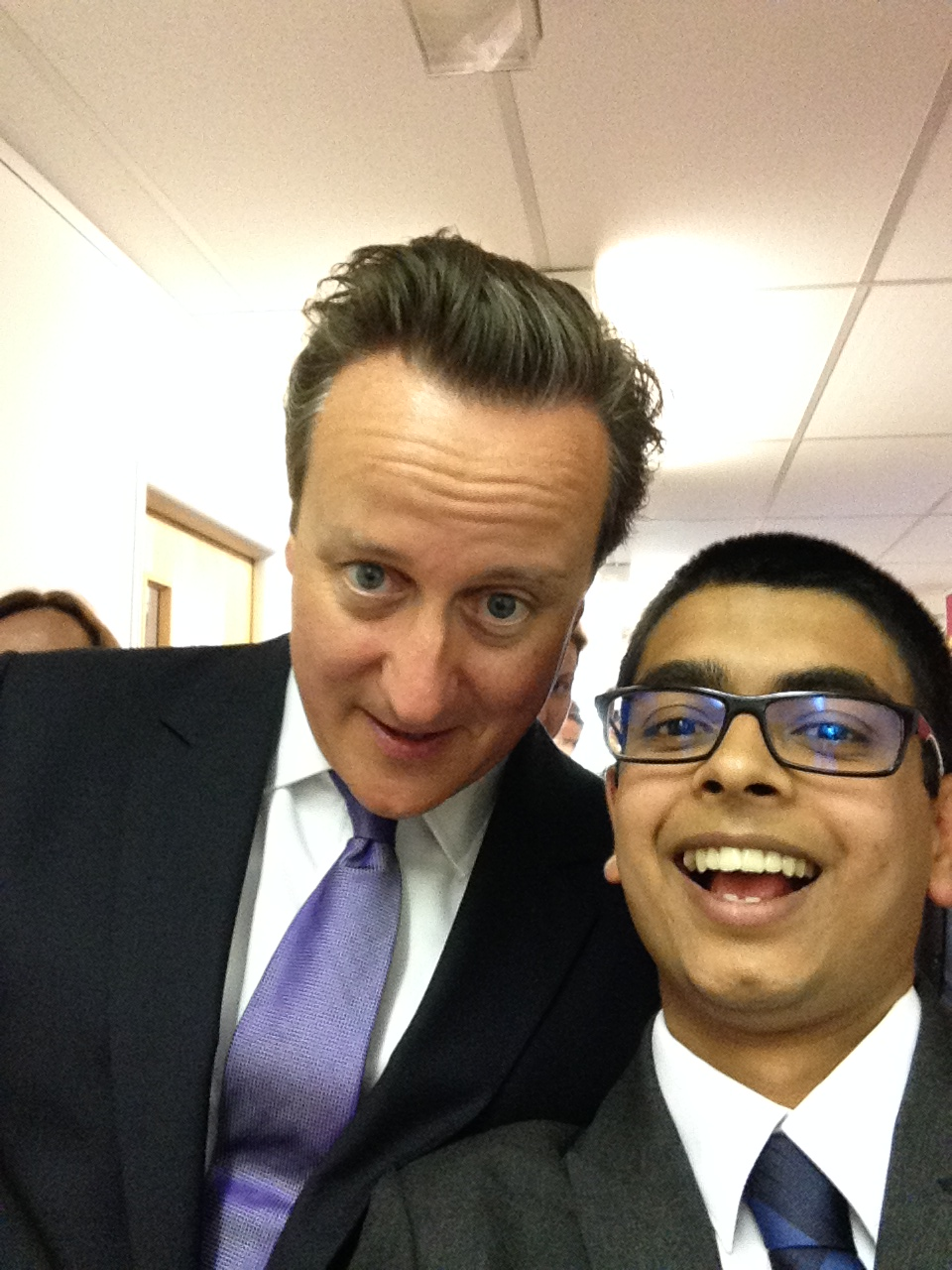 Selfie with PM David Cameron.JPG