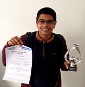 Harlow College's Business Student of the Year