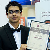 Association of Colleges' 'Student of the Year 2015' - Second Prize