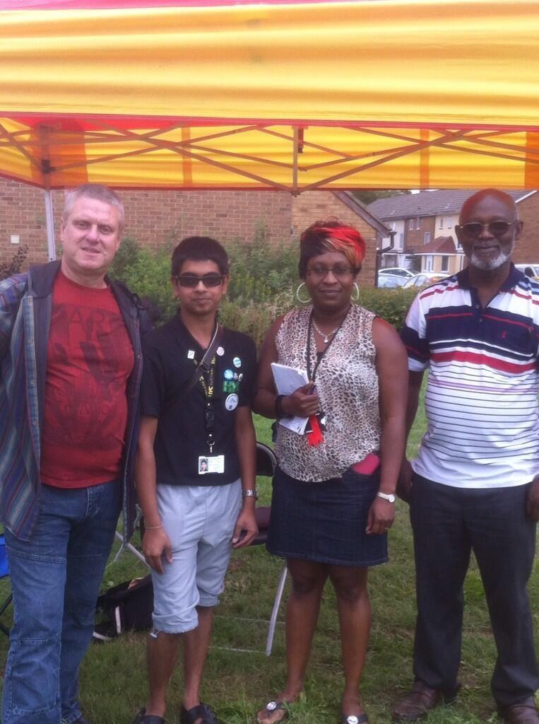 Bushfair Cllr Ian, Danielle, Manny 2013.JPG