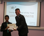 Big Society's Young Volunteer of the Year