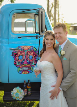 We rent our Blue Truck for events
