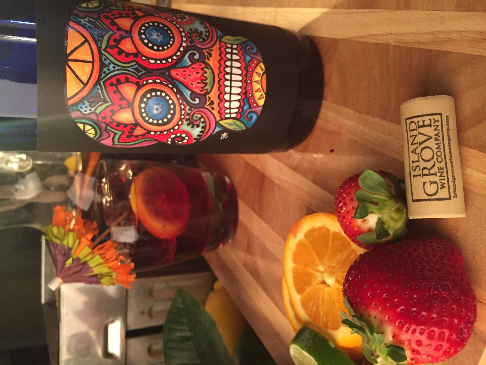 Sunshine State Berry Sangria