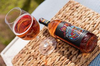 Blueberry Rosé bottle