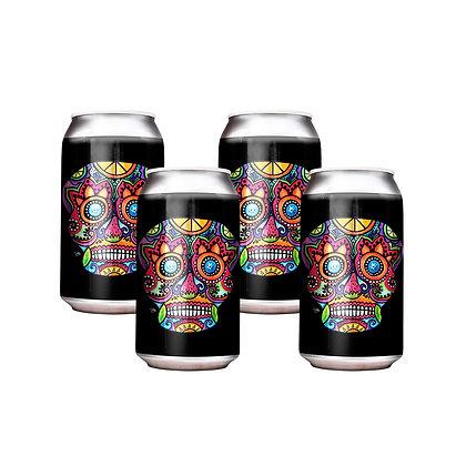 4 cans of Island Grove Wine Company 375ml