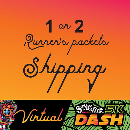 Shipping for Pre-registered Sangria 2020 Dash - 1 or 2 packets