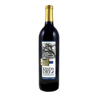 Kinda Dry Blueberry Wine