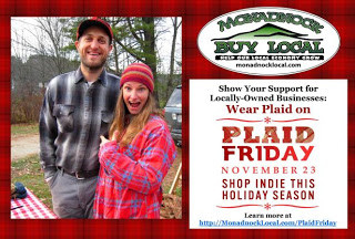 Celebrate the Holidays with Plaid Friday, November 23rd, 2012