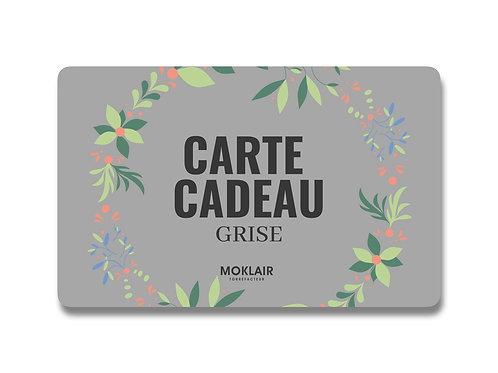 CARTE CADEAU GRISE