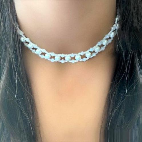 Pearl Choker / Bracelet 2 in 1