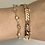 Thumbnail: Chevron Crystal Chain Anklet / Bracelet
