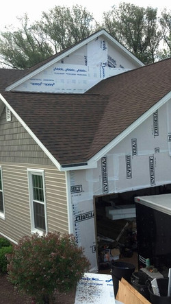 New roof installation.