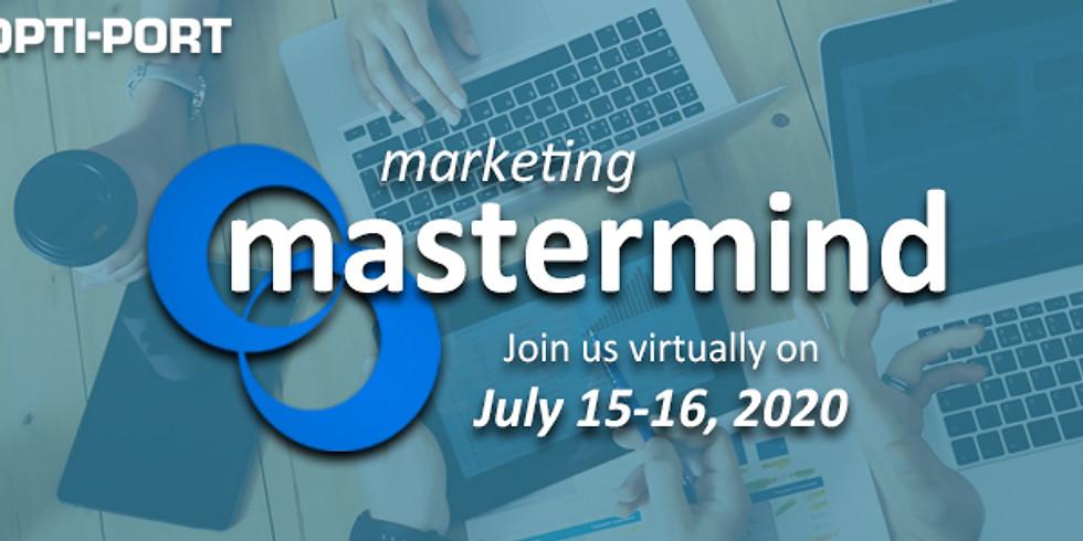 Marketing Mastermind Meeting 2020 (Virtual)