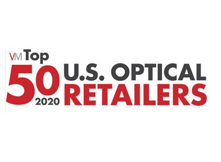 Opti-Port Members Make Up 20% of Top 50 U.S. Optical Retailers 2020