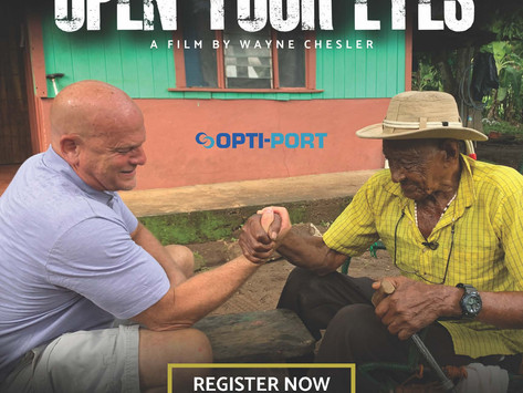 """Exclusive Showing of Documentary """"Open Your Eyes"""" Free for Opti-Port Members"""