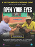 "Exclusive Showing of Documentary ""Open Your Eyes"" Free for Opti-Port Members"