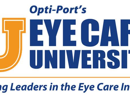 Join us for Opti-Port's Eye Care University 2018