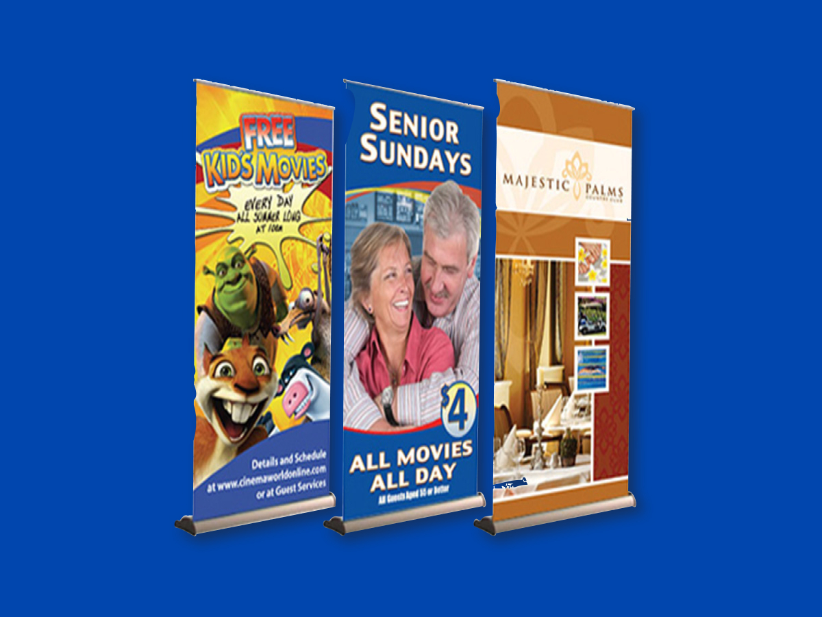 Pull-up Banner Displays