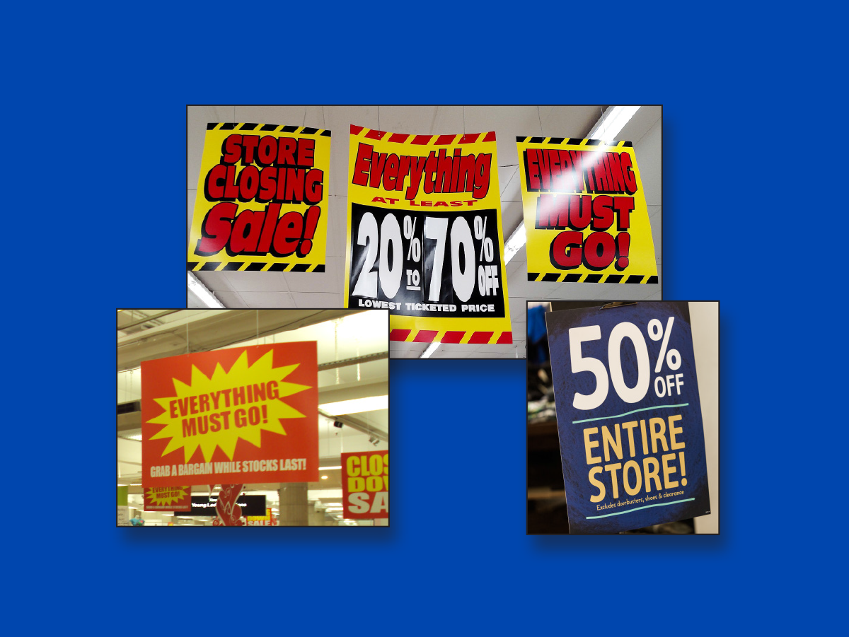 Point of Purchase Signs
