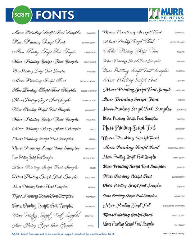 Murr Font List- Script Fonts.jpg
