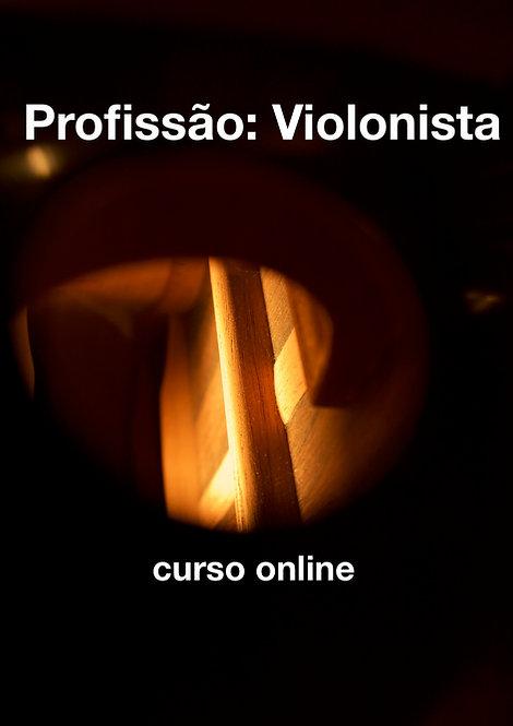 Profissão Violonista