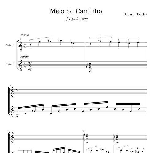 Meio do Caminho for guitar duo