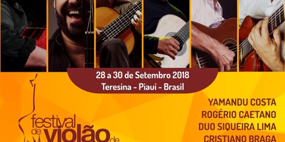 Ulisses Rocha no Festival de Teresina
