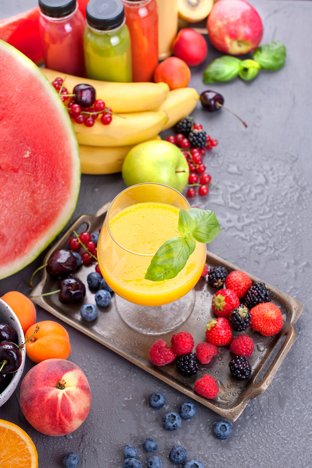 Healthy fruits on your health journey