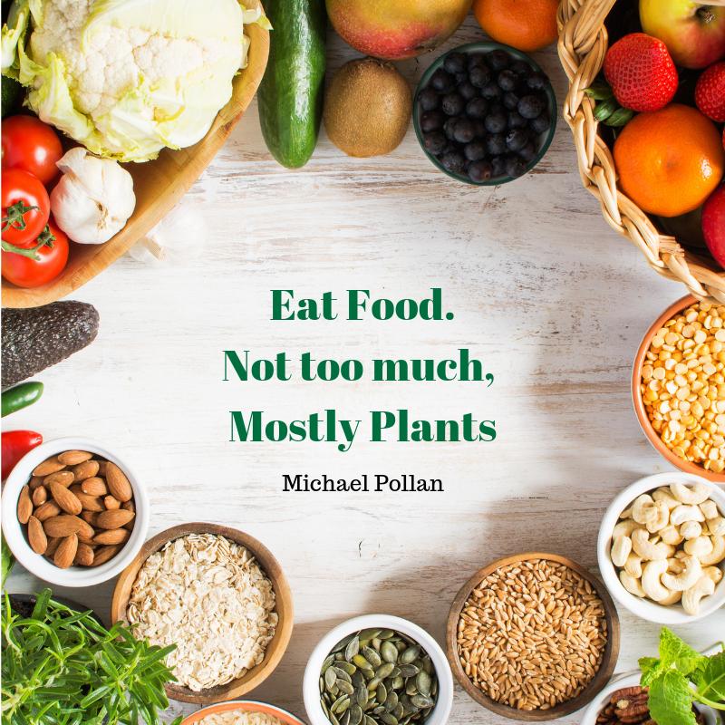 Enjoy-plant-based foods and benefits.