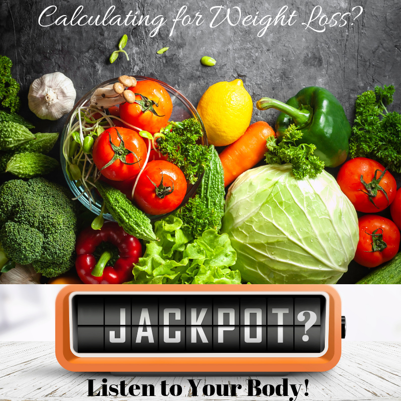 Fruits and vegetables for the weight loss jackpot.