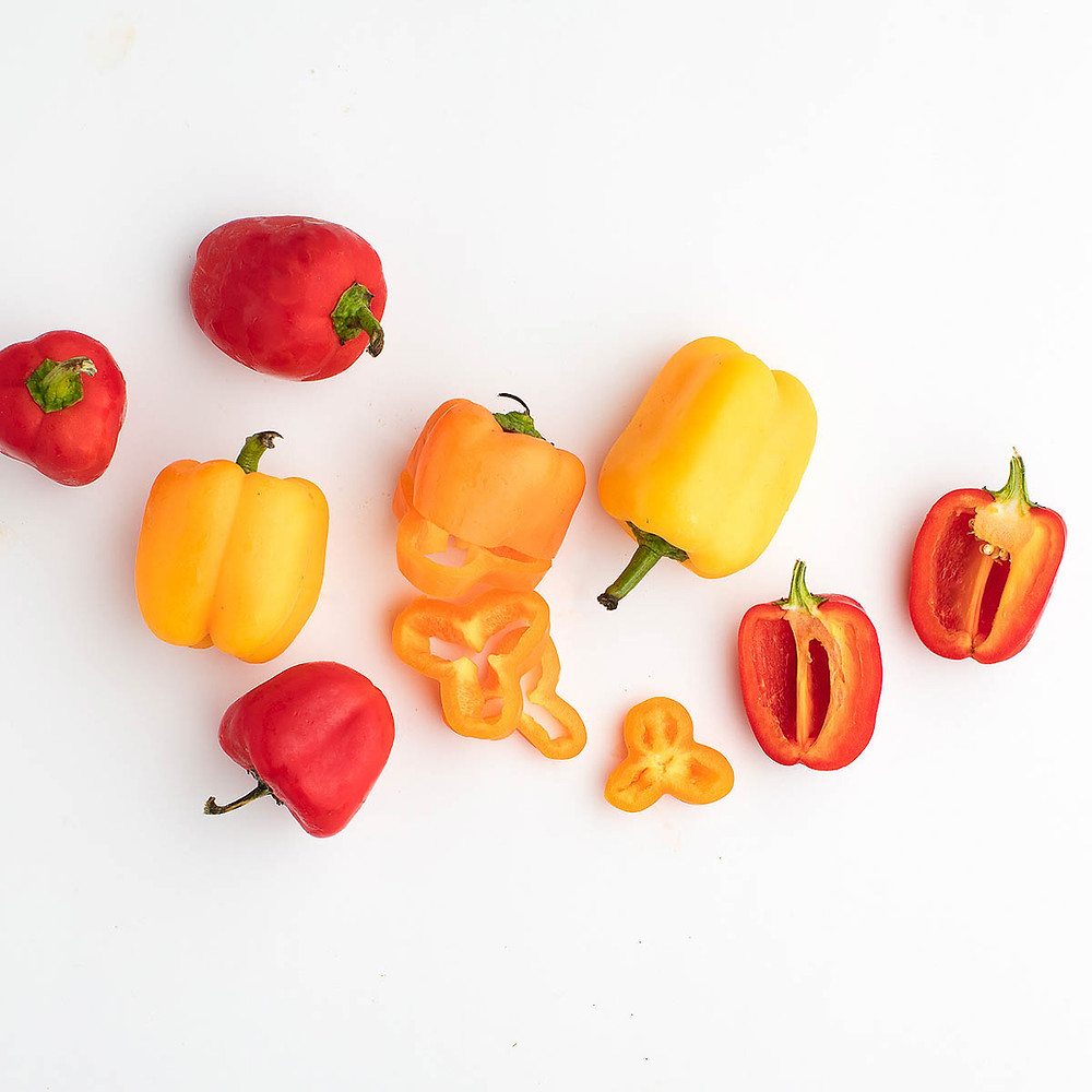 Bell peppers for your health journey