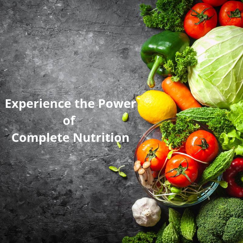 Healthy foods are part of your Complete Nutrition