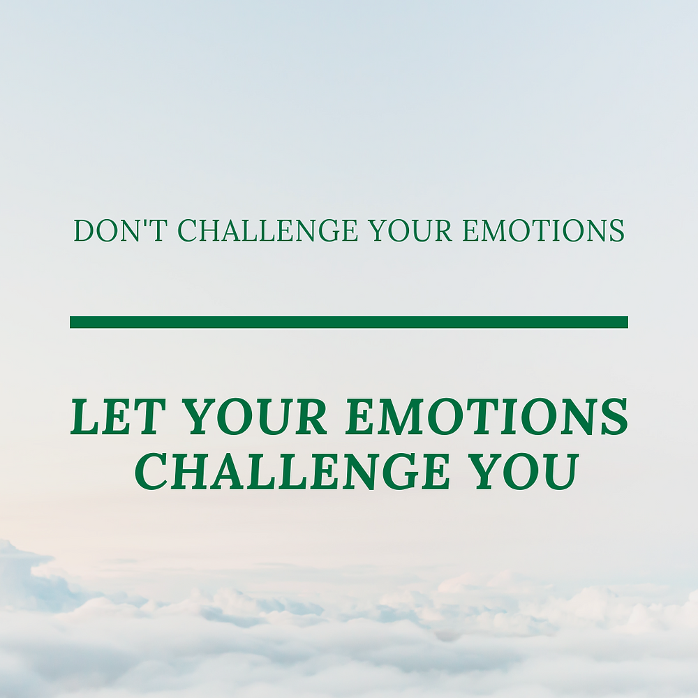 The power of emotions and determination.